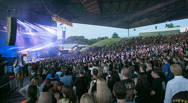 Michigan Lottery Amphitheatre At Freedom Hill