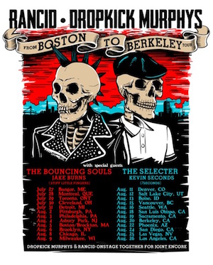 Dropkick Murphys & Rancid at Freedom Hill Amphitheatre