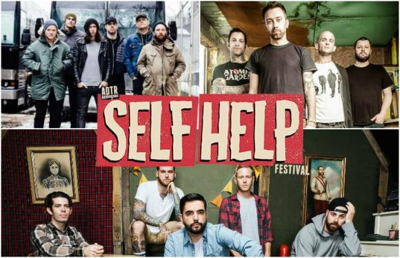 Self Help Festival: Rise Against, A Day To Remember, Pierce The Veil & Underoath at Freedom Hill Amphitheatre