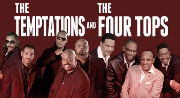 The Temptations & The Four Tops at Freedom Hill Amphitheatre