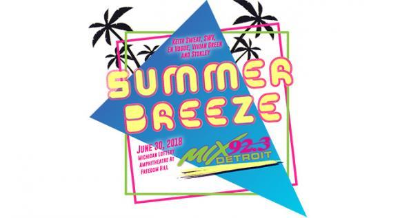 Mix 92.3 Summer Breeze: Keith Sweat, SWV, En Vogue, Stokley & Vivian Green at Freedom Hill Amphitheatre