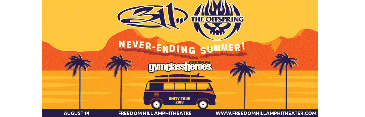 311 & The Offspring at Freedom Hill Amphitheatre