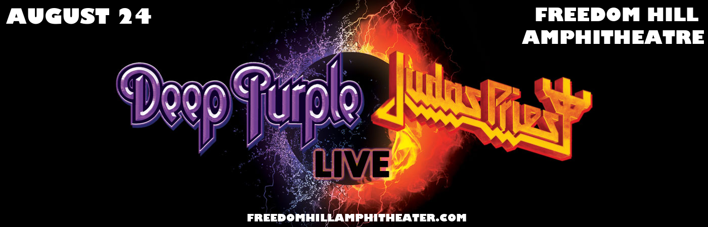 Deep Purple & Judas Priest at Freedom Hill Amphitheatre
