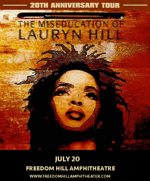 Lauryn Hill at Freedom Hill Amphitheatre