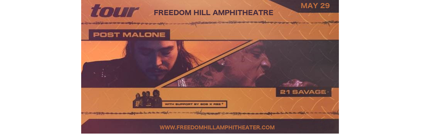 Post Malone at Freedom Hill Amphitheatre