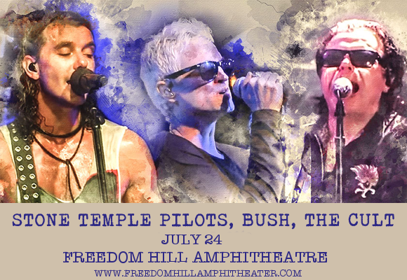 The Cult, Stone Temple Pilots & Bush at Freedom Hill Amphitheatre