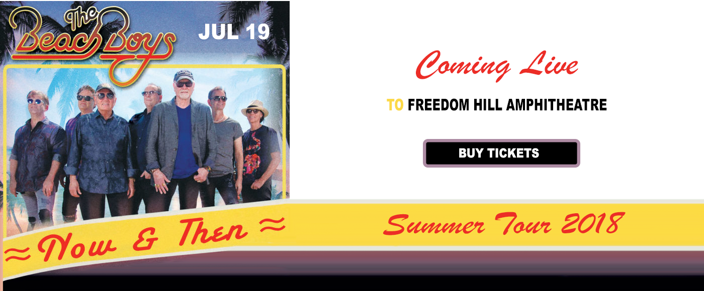 The Beach Boys at Freedom Hill Amphitheatre