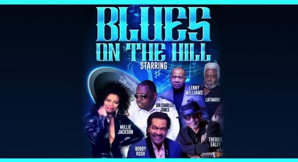 Blues On The Hill: Millie Jackson, Sir Charles Jones, Bobby Rush, Lenny Williams & Lattimore at Freedom Hill Amphitheatre