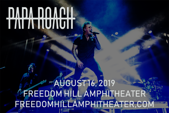 Papa Roach at Freedom Hill Amphitheatre