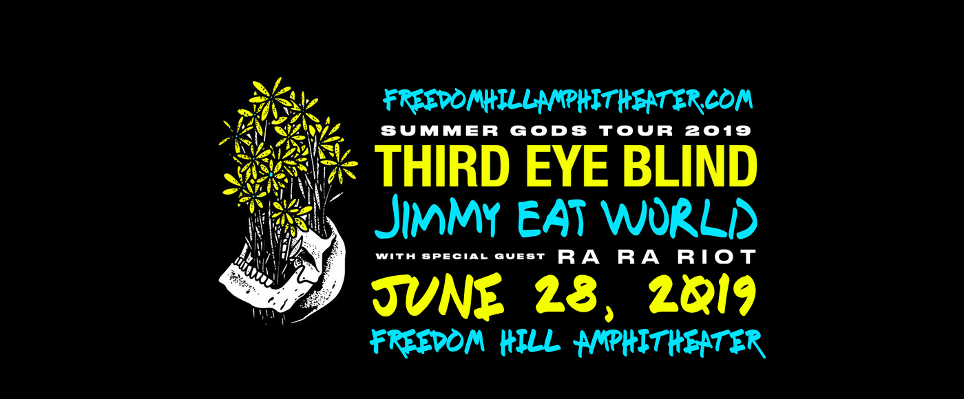Third Eye Blind & Jimmy Eat World at Freedom Hill Amphitheatre