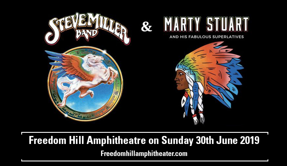 Steve Miller Band & Marty Stuart at Freedom Hill Amphitheatre