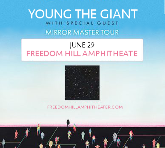 Young The Giant & Fitz and The Tantrums at Freedom Hill Amphitheatre