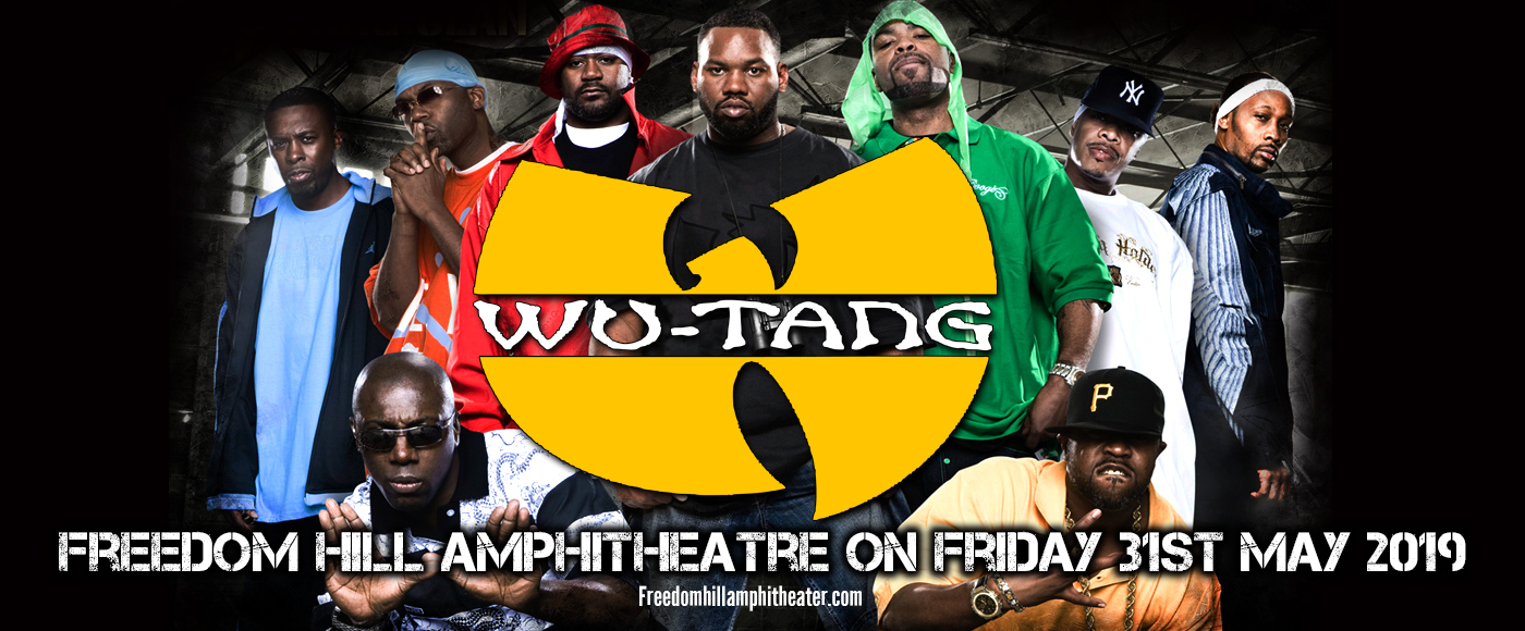 Wu-Tang Clan at Freedom Hill Amphitheatre