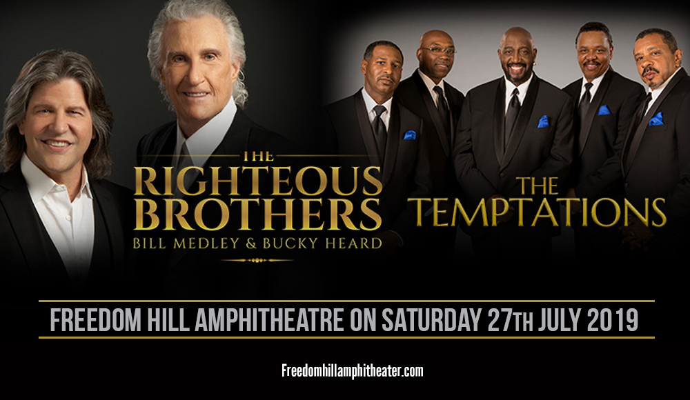 The Temptations & The Righteous Brothers at Freedom Hill Amphitheatre