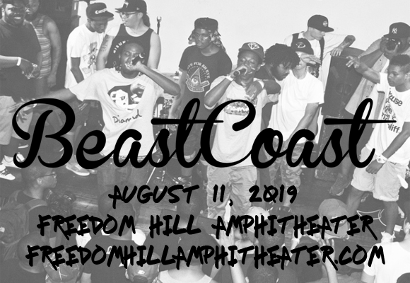 Beast Coast: Joey Bada$$, Flatbush Zombies, The Underachievers, Kirk Knight & Nyck Caution at Freedom Hill Amphitheatre