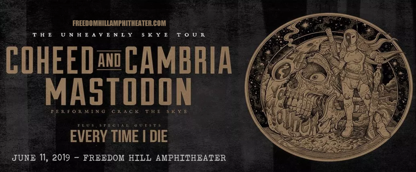 Coheed and Cambria & Mastodon at Freedom Hill Amphitheatre