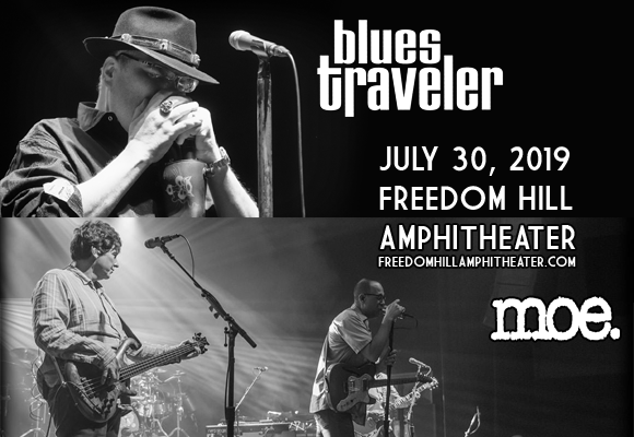 moe. & Blues Traveler at Freedom Hill Amphitheatre