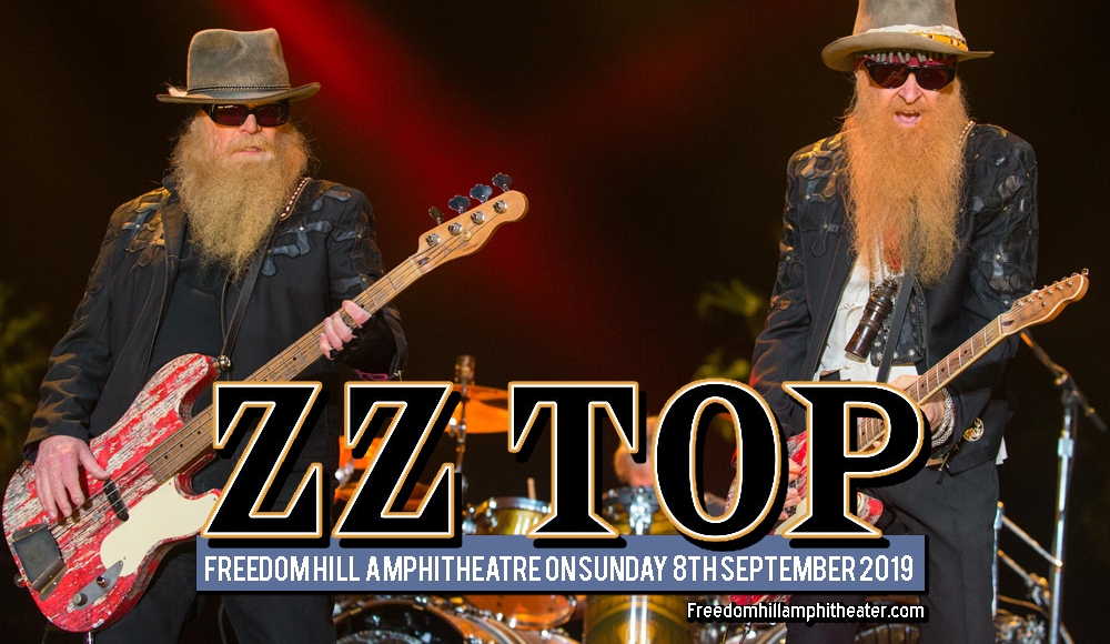 ZZ Top at Freedom Hill Amphitheatre