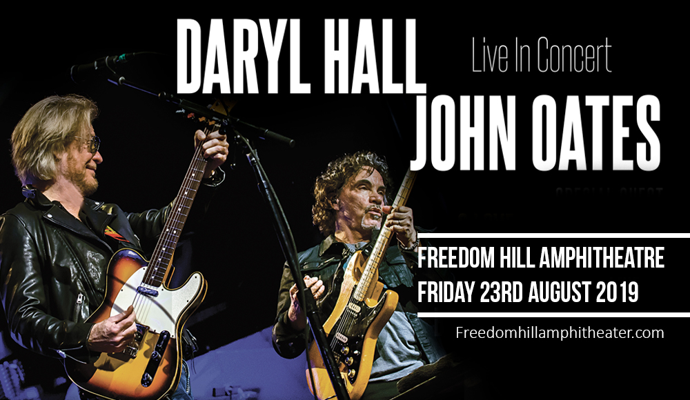 Daryl Hall & John Oates at Freedom Hill Amphitheatre