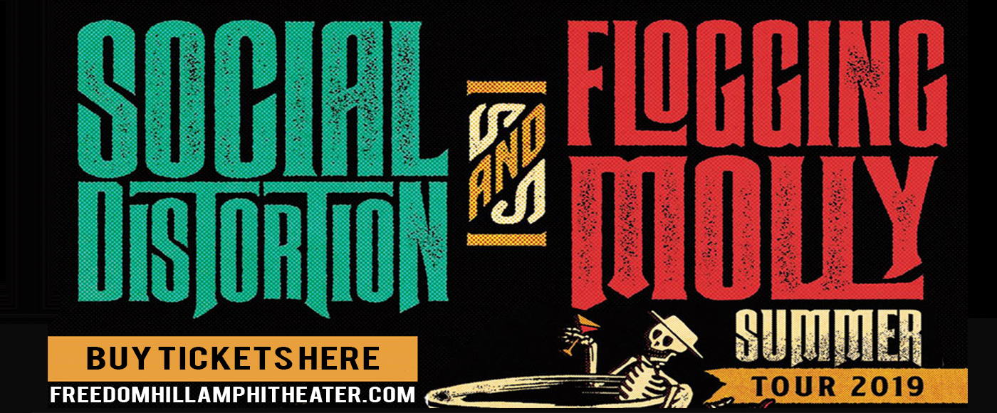 Social Distortion, Flogging Molly & The Devil Makes Three at Freedom Hill Amphitheatre