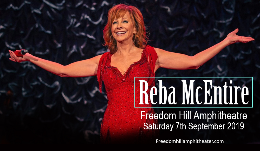 Reba McEntire at Freedom Hill Amphitheatre