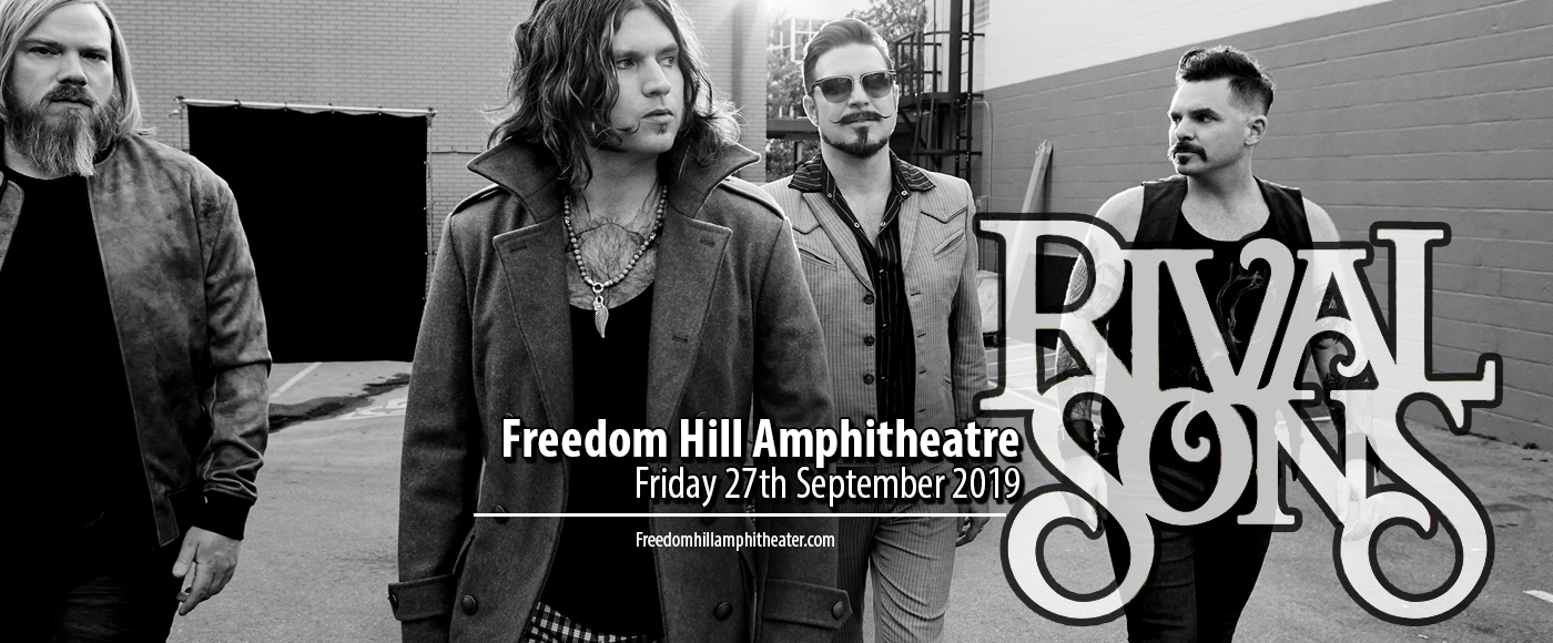Rival Sons at Freedom Hill Amphitheatre