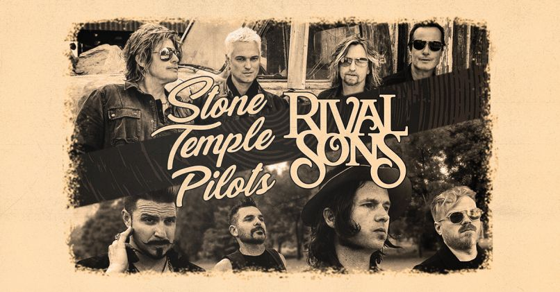 Stone Temple Pilots & Rival Sons at Freedom Hill Amphitheatre