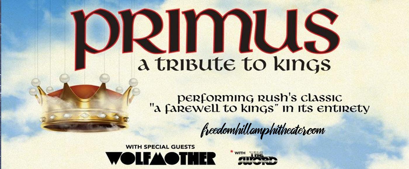 Primus at Freedom Hill Amphitheatre