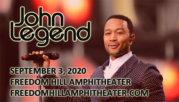 John Legend at Freedom Hill Amphitheatre