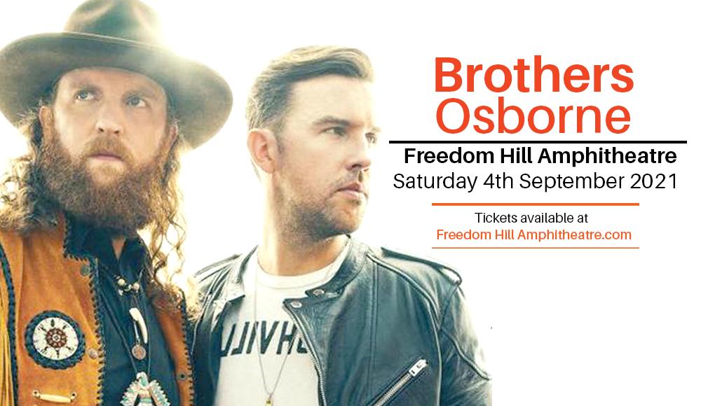 Brothers Osborne at Freedom Hill Amphitheatre