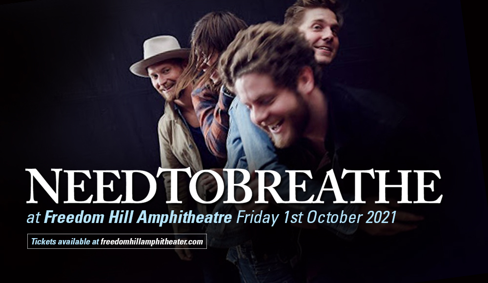 Needtobreathe at Freedom Hill Amphitheatre