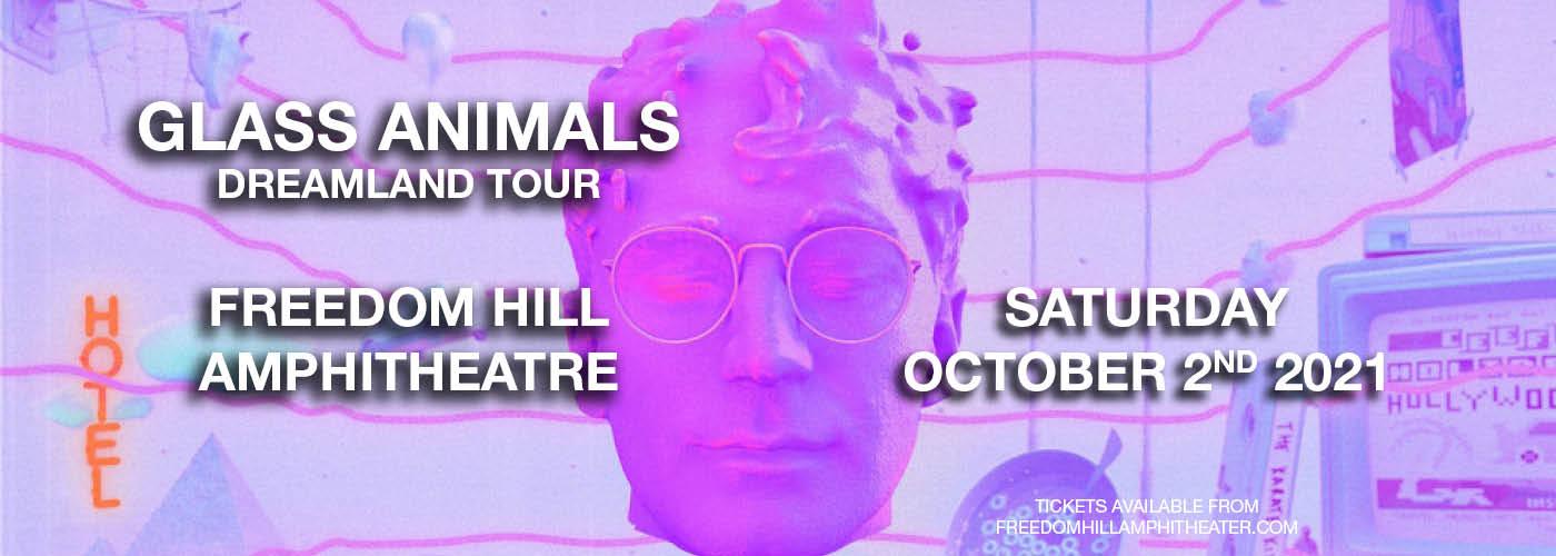 Glass Animals - Dreamland Tour at Freedom Hill Amphitheatre