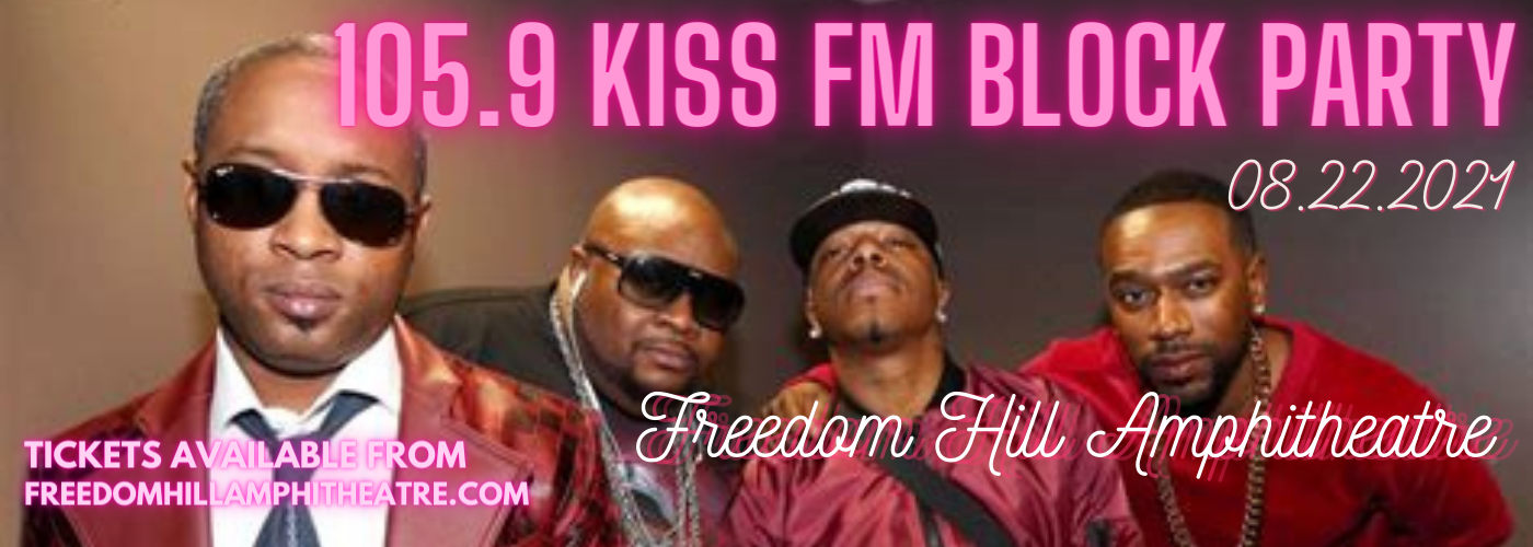 105.9 Kiss FM Block Party: Dru Hill, 112, Jagged Egde & Ginuwine at Freedom Hill Amphitheatre