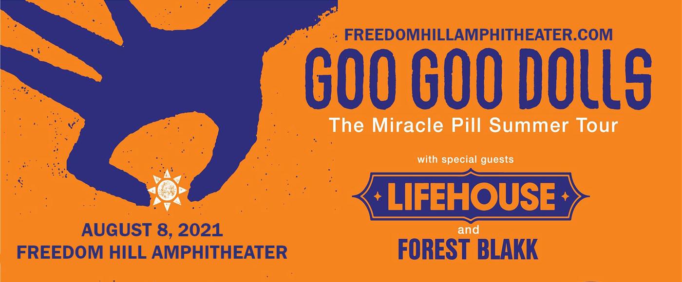 Goo Goo Dolls & Lifehouse at Freedom Hill Amphitheatre