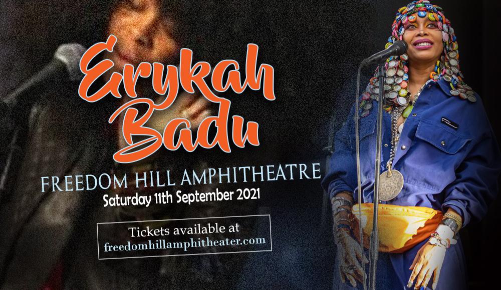 Erykah Badu at Freedom Hill Amphitheatre