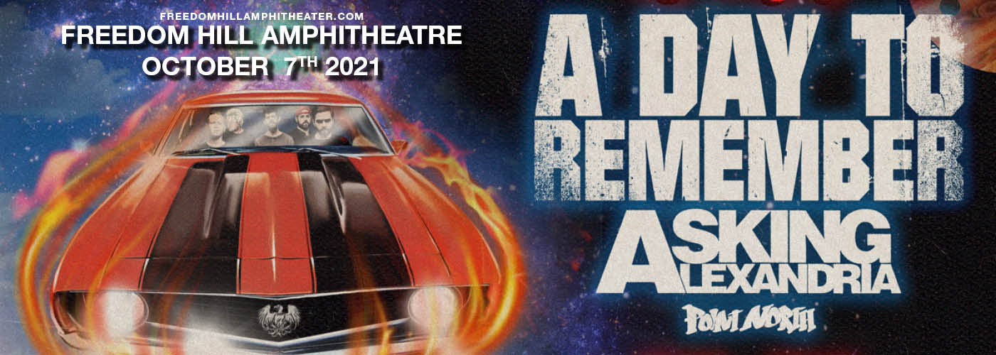 A Day To Remember: The Re-Entry Tour at Freedom Hill Amphitheatre
