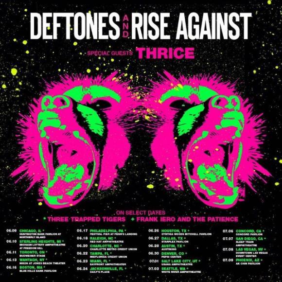 Deftones & Rise Against at Freedom Hill Amphitheatre