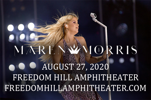 Maren Morris [CANCELLED] at Freedom Hill Amphitheatre