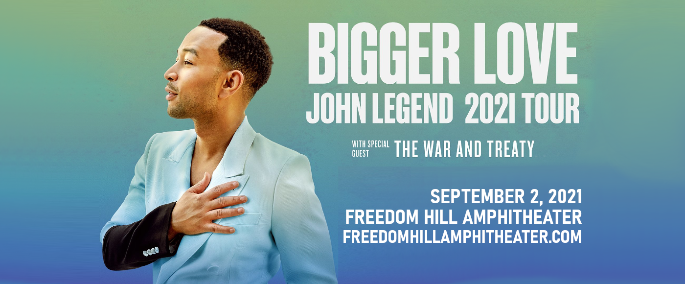 John Legend [CANCELLED] at Freedom Hill Amphitheatre
